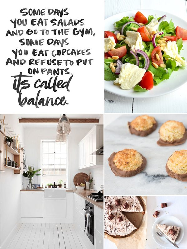 food moodboard keuken
