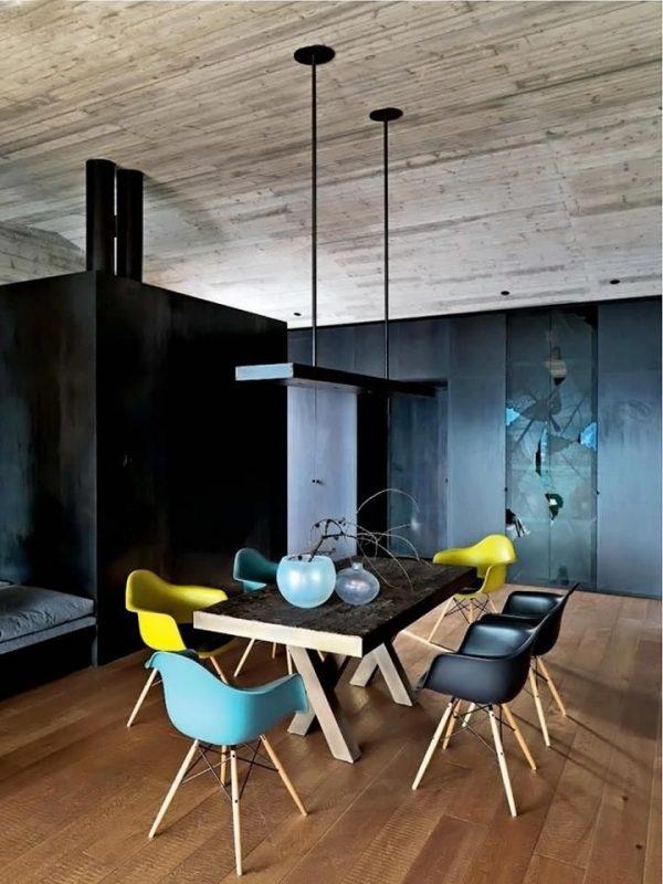 Fabulous Gekleurde eetkamerstoelen in de keuken - THESTYLEBOX WJ46
