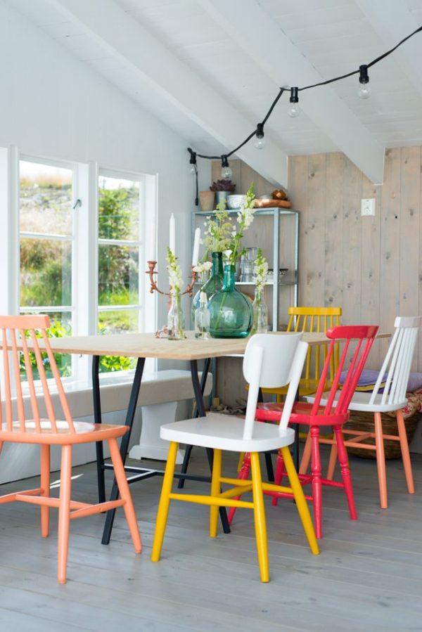 Beautiful Houten Eetkamer Stoelen Pictures - House Design Ideas 2018 ...