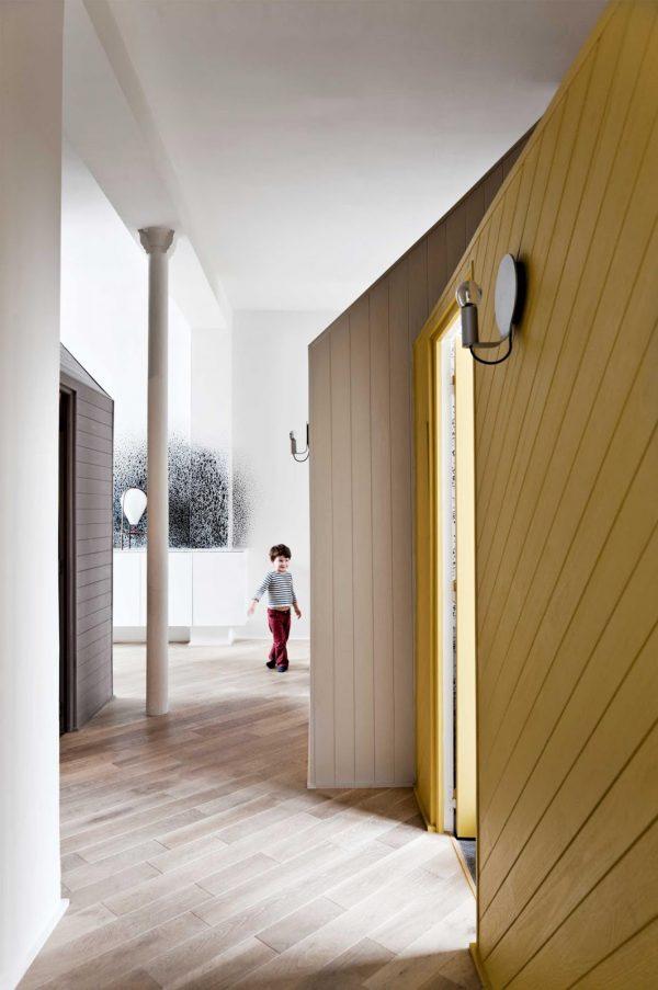 Appartement Parijs: zwart-wit-geel - THESTYLEBOX