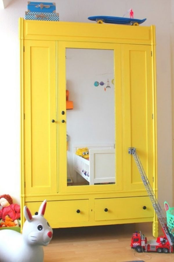 geschilderde kledingkast - THESTYLEBOX