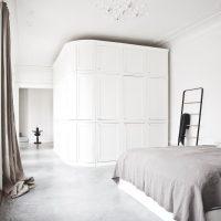 gietvloer in slaapkamer