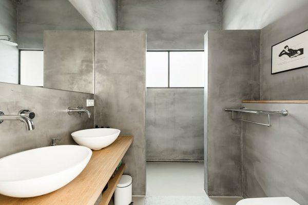 gietvloer microcement badkamer