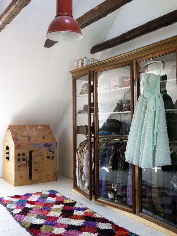 glazen kledingkast slaapkamer
