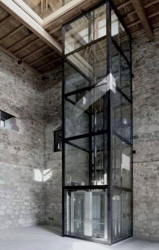 glazen kolom