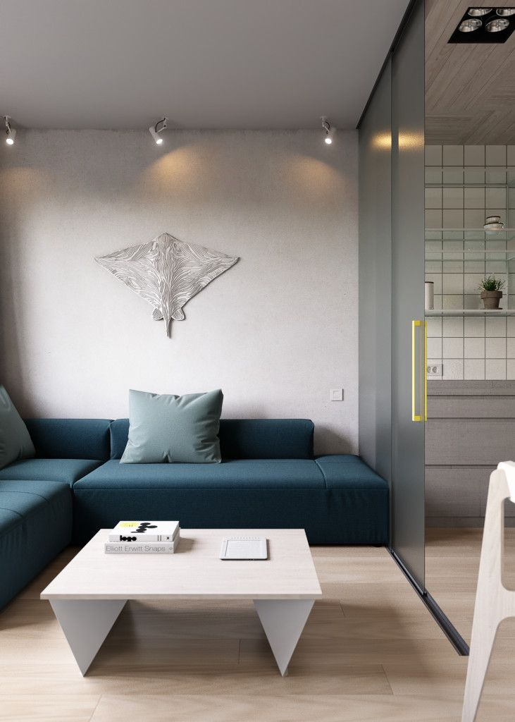 Glazen schuifwand tussen woonkamer en keuken