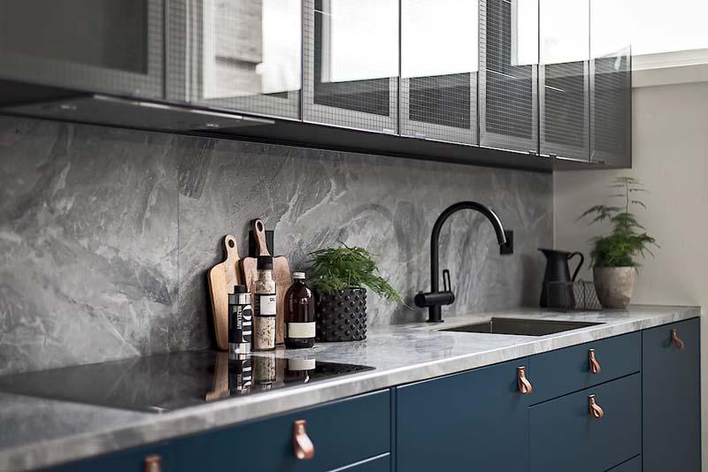 granieten keuken achterwand