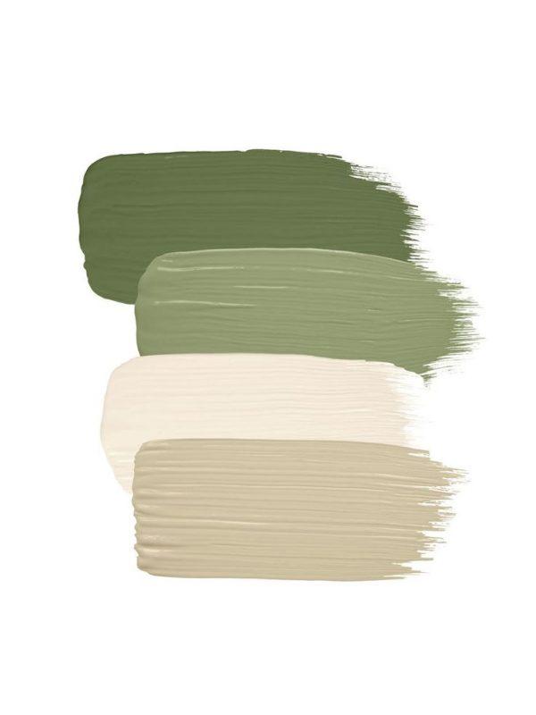 green house kleurenpallet