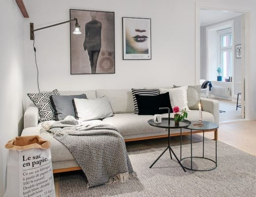 Tsbkaartjes De Kaartjes : Scandinavisch klassiek appartement thestylebox