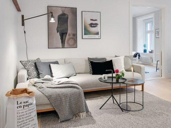 Hoekbank woonkamer thestylebox - Kleine design lounge ...