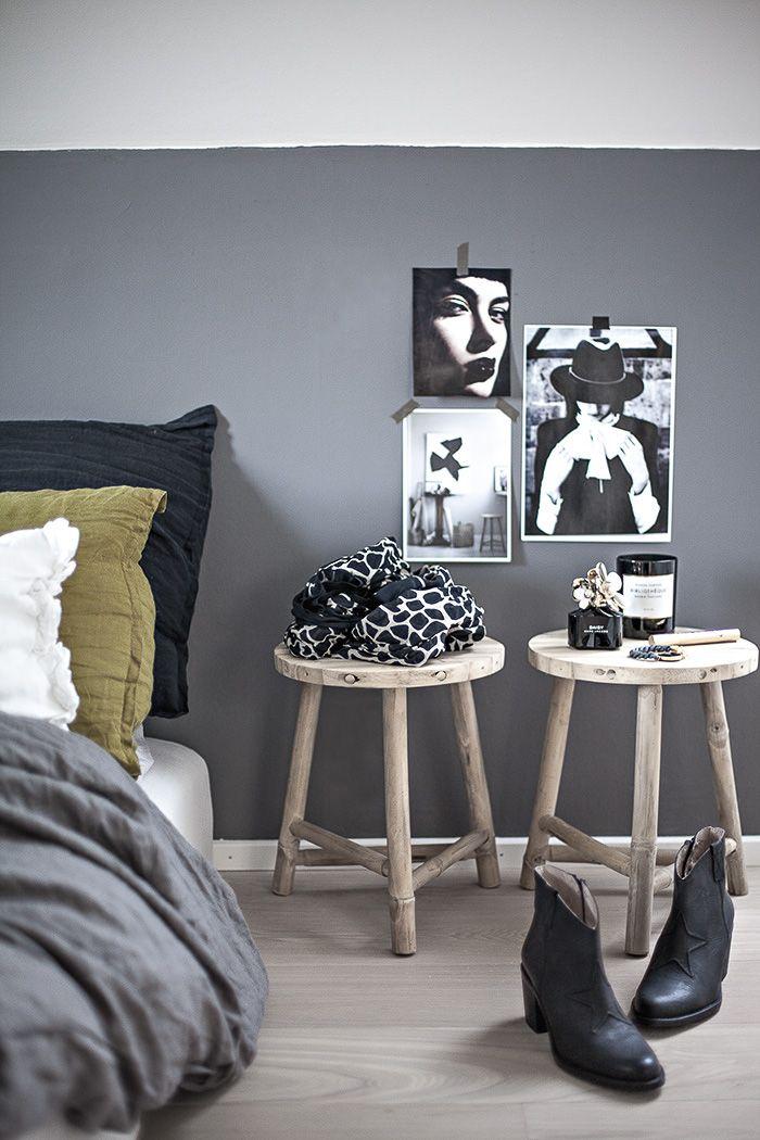 Grijze slaapkamer grijze slaapkamer inrichting huis - Grijze slaapkamer ...