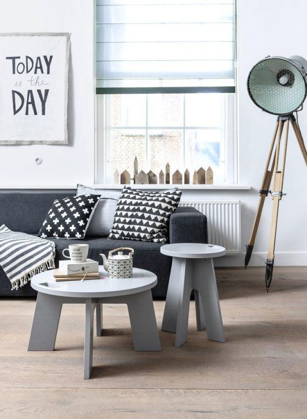grijze tafels