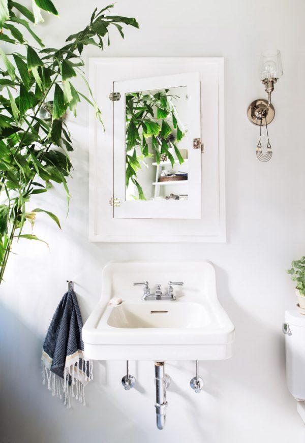 groen badkamer