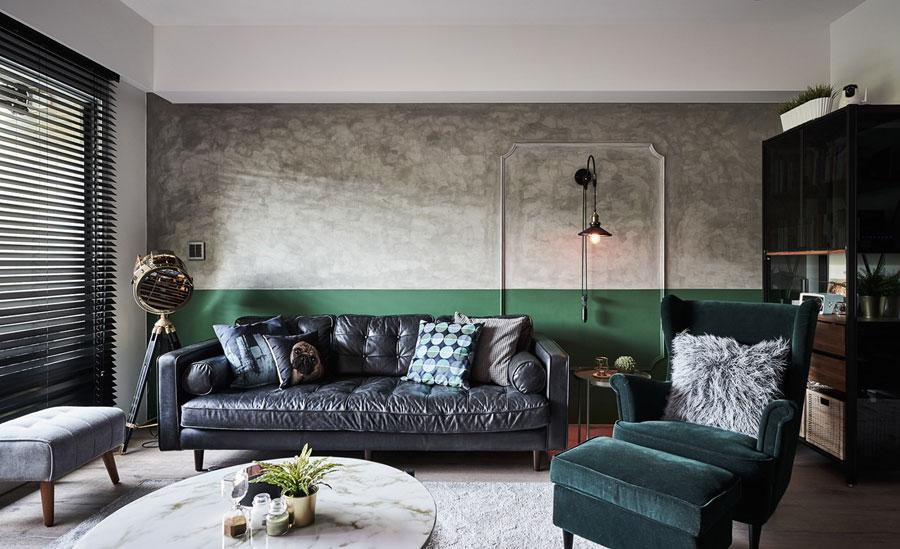 Groene muur Histor 100% Eucalyptus