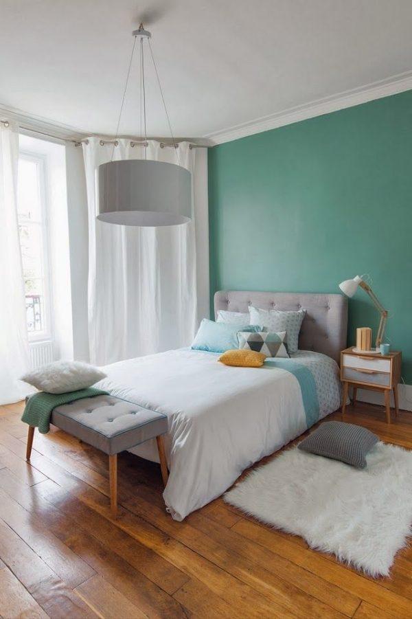 Groene slaapkamer - THESTYLEBOX