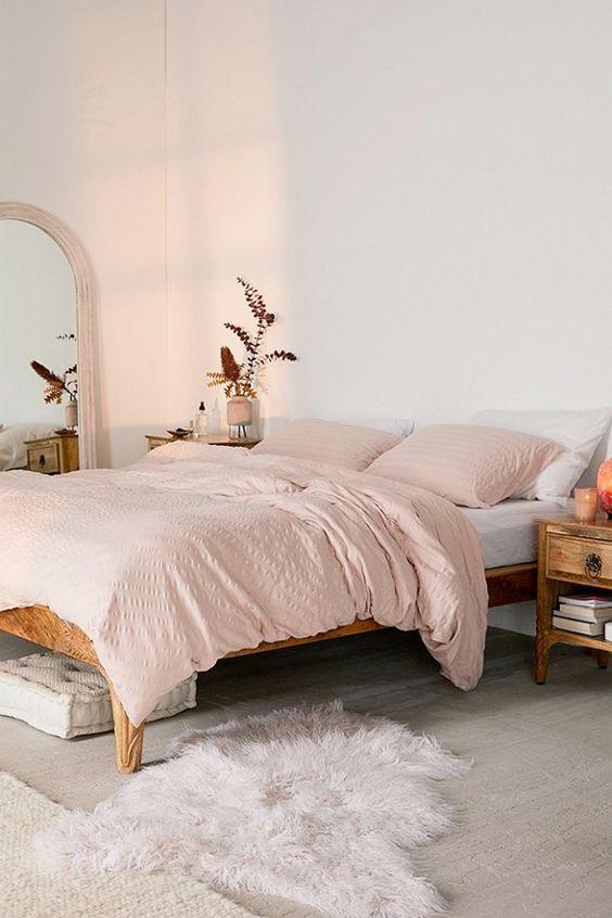 grote boog spiegel slaapkamer