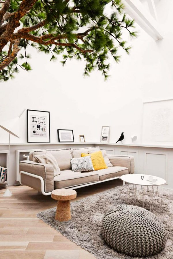 Boom in de woonkamer - THESTYLEBOX