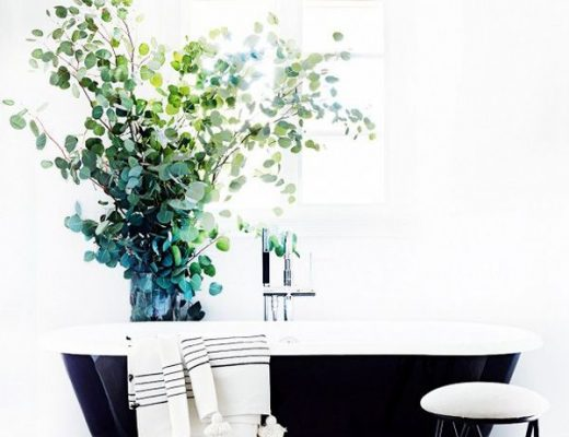 grote plant badkamer