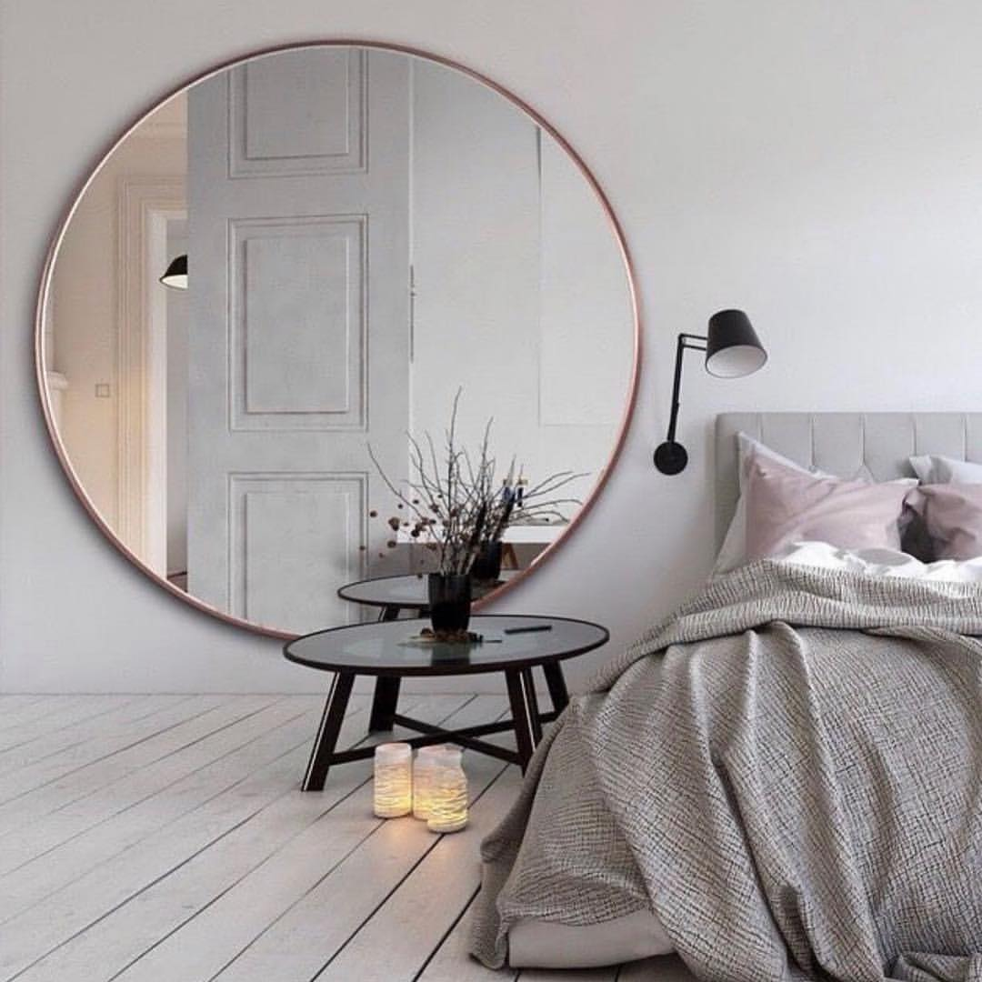 Grote Ronde Spiegel.25x Grote Spiegel Slaapkamer Ideeen Thestylebox