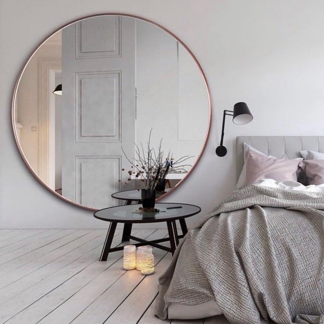 Grote Spiegel Met Brede Lijst.25x Grote Spiegel Slaapkamer Ideeen Thestylebox
