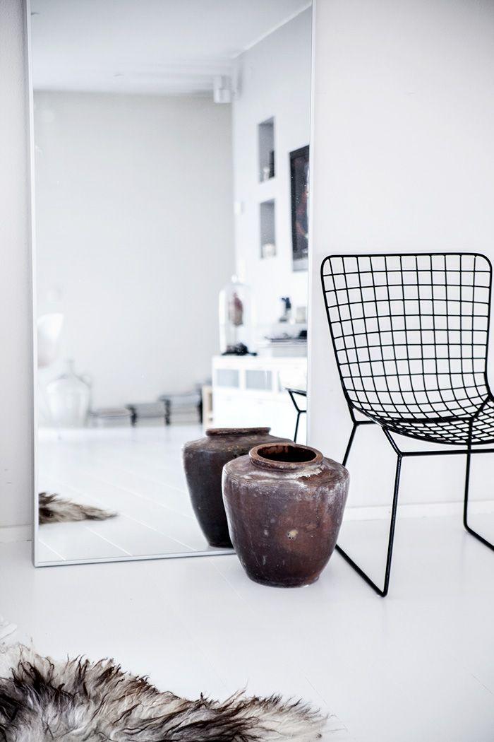 Grote spiegel slaapkamer thestylebox for Grote zilveren spiegel