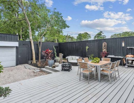Grote tuin makeover uit Texas