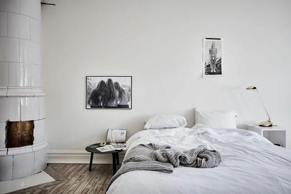 haard slaapkamer
