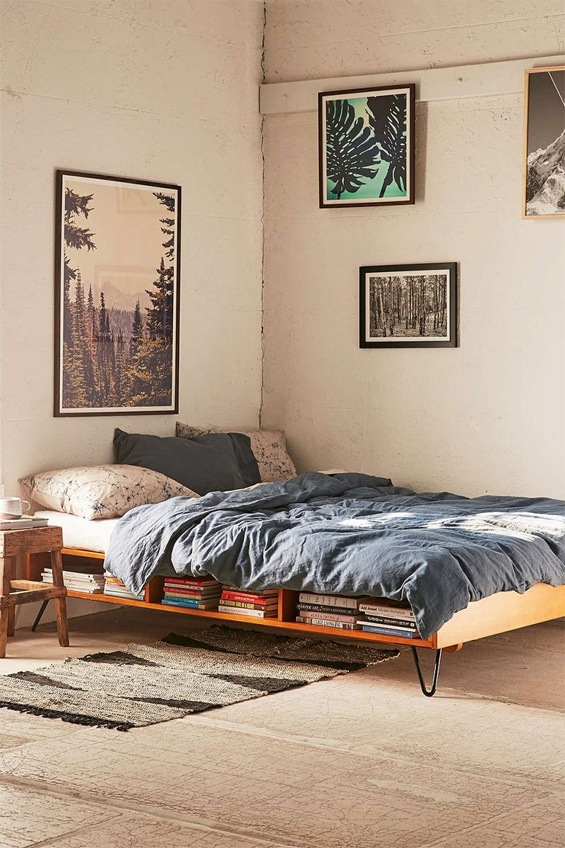 hairpin legs bed