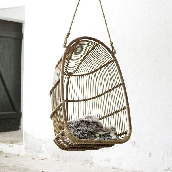 Tuinstoel Hangend Ei.Hangstoel Tuin Schommelstoel Voor Buiten Hangende Stoel Of Hangende