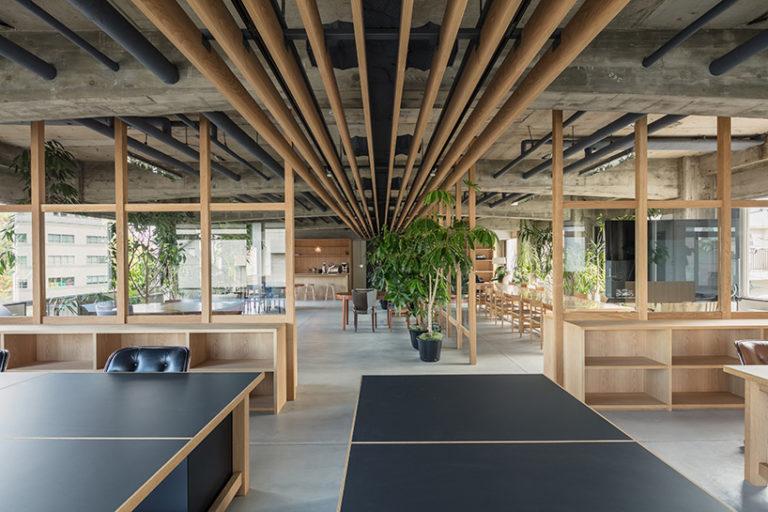 Het stoere mooie kantoor van creatief bureau uit Tokyo!