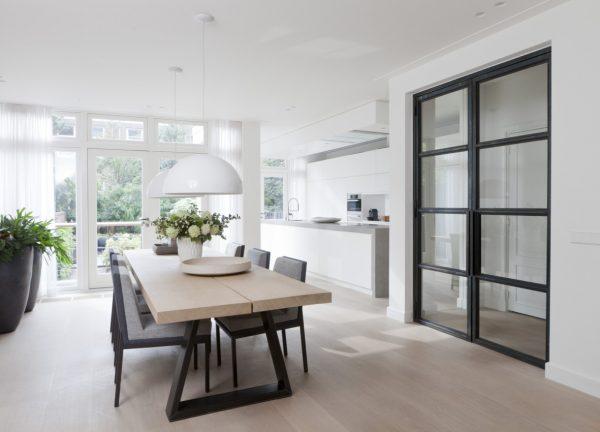 Hollandse stadsvilla thestylebox - Keuken open voor woonkamer ...