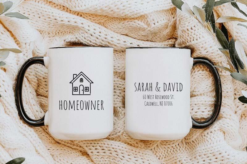 housewarming cadeau idee mok