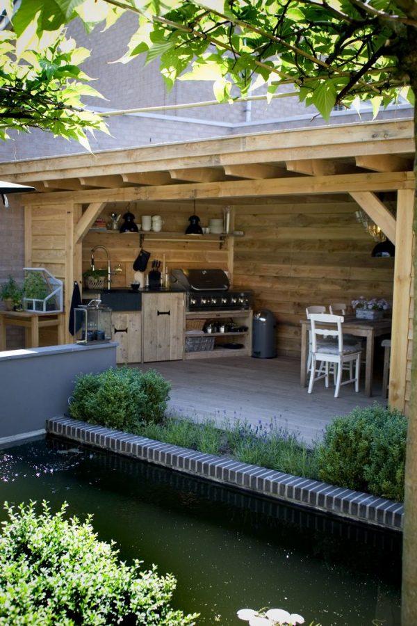hout keuken