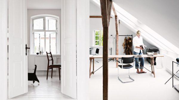 hout wit kantoor