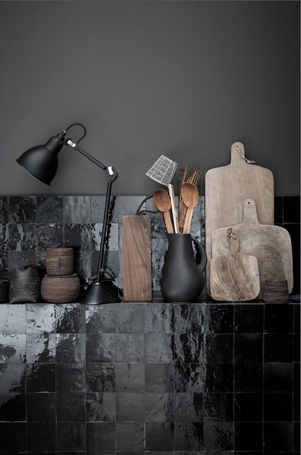 Houten accessoires keuken   thestylebox