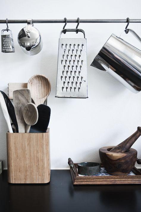 houten accessoires keuken
