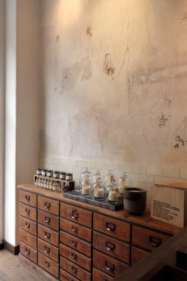 houten archiefkast