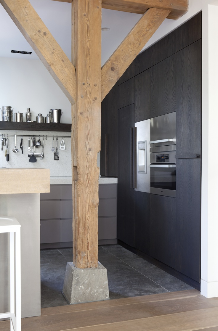 Zwarte Keuken Met Hout : Zwarte keuken – THESTYLEBOX