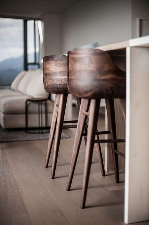 houten barkrukken