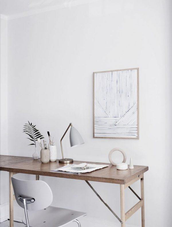 houten bureau kantoor