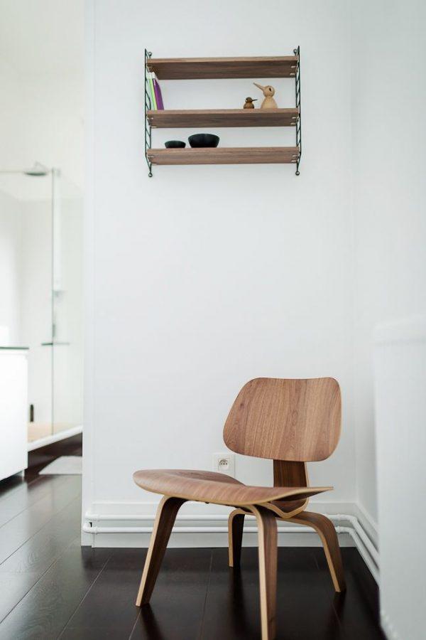 houten design stoel vitra