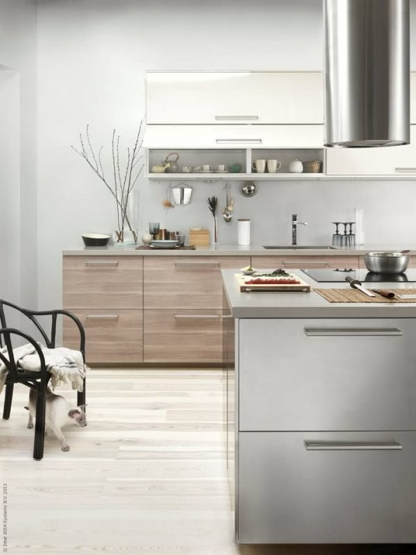 houten ikea keuken