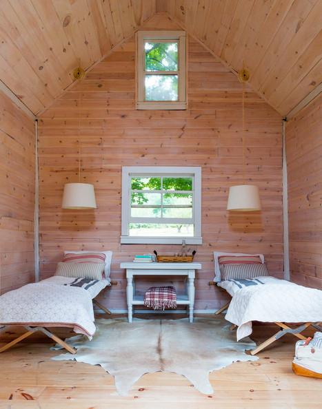 houten kamer
