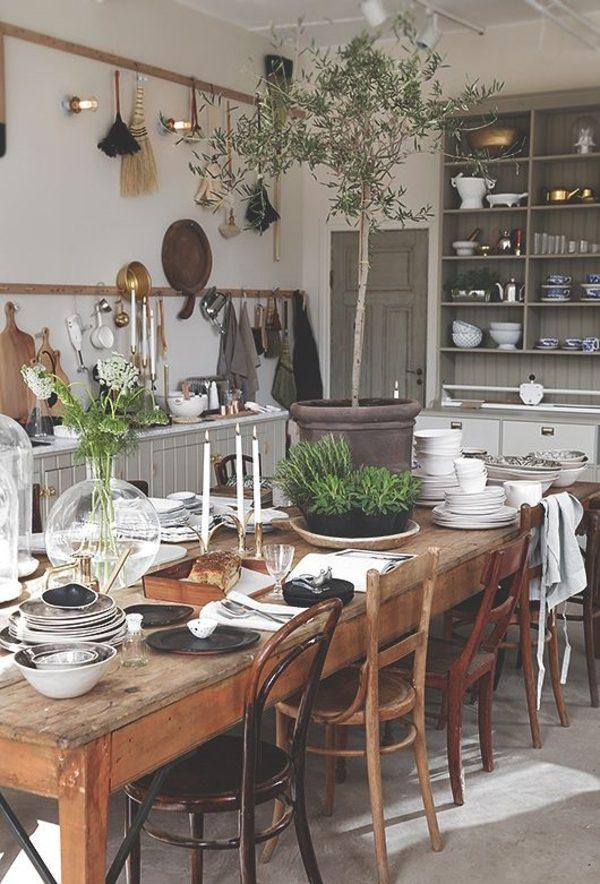 houten keuken stoelen tafel