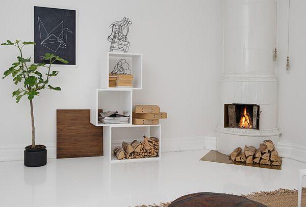 Kast Houten Kubussen : Kast van houten kubussen thestylebox