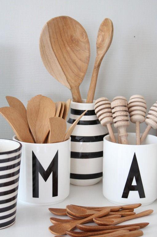 houten lepels keuken