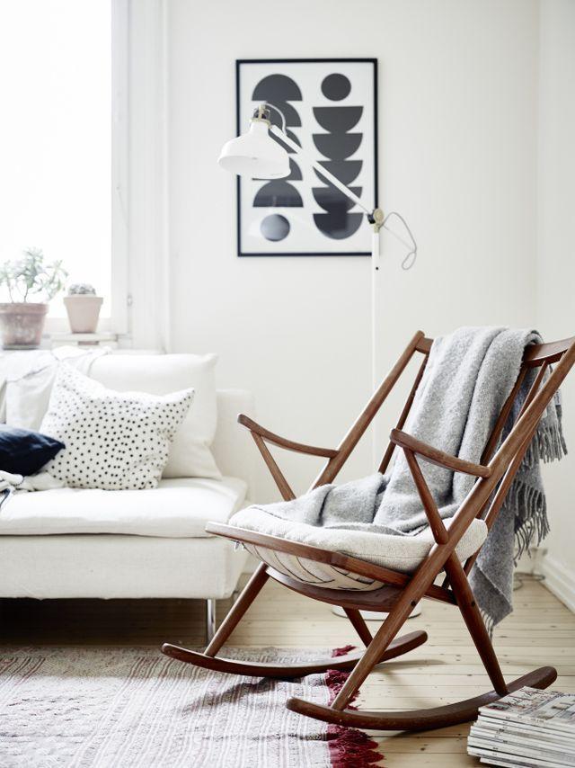 Scandinavisch Design Schommelstoel.Schommelstoel Thestylebox