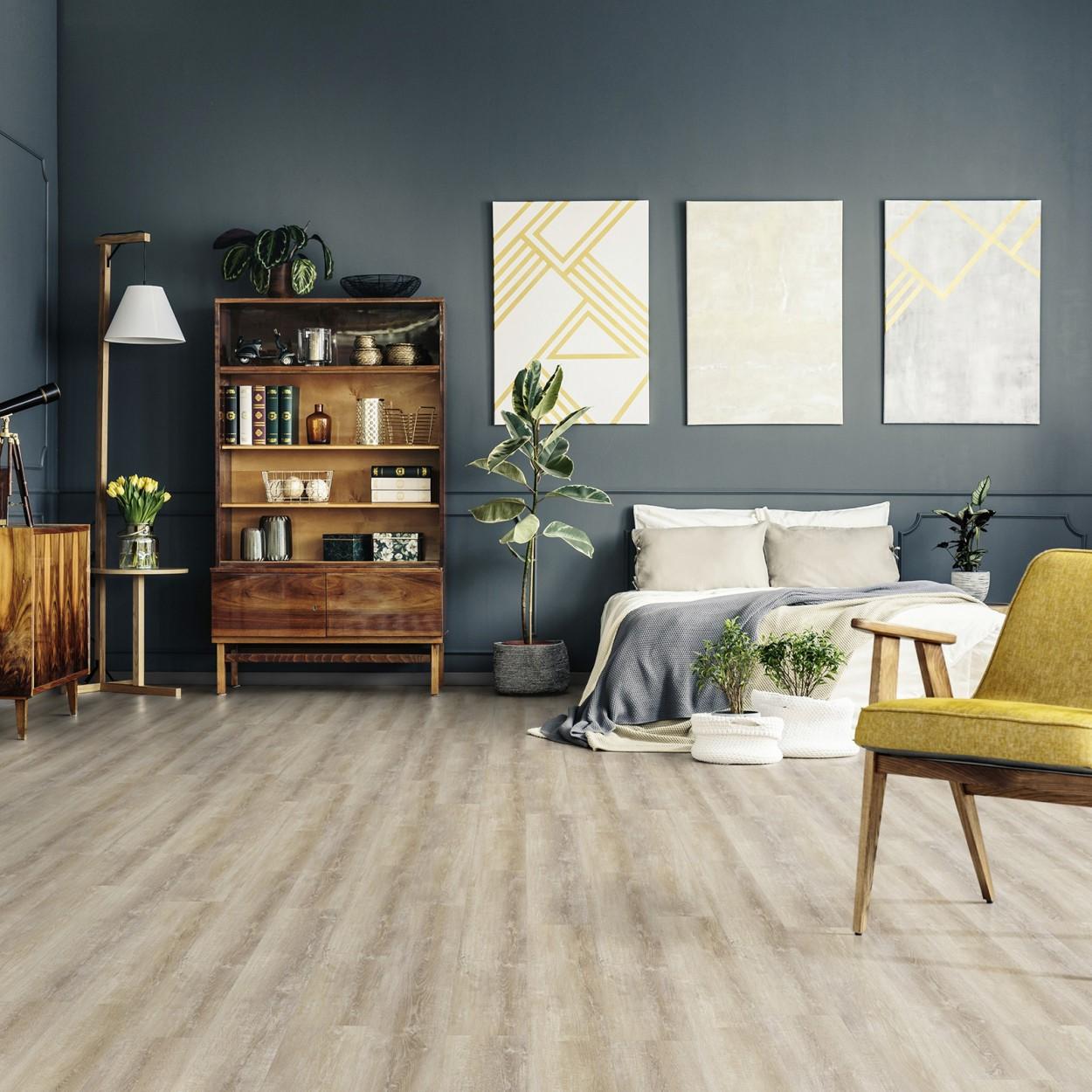 houtlook pvc slaapkamer