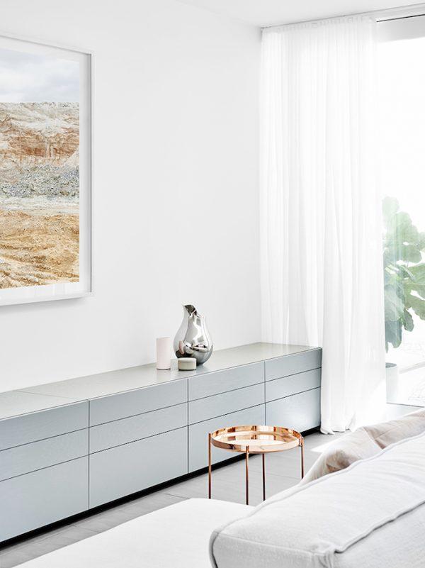 huis pastel grijs