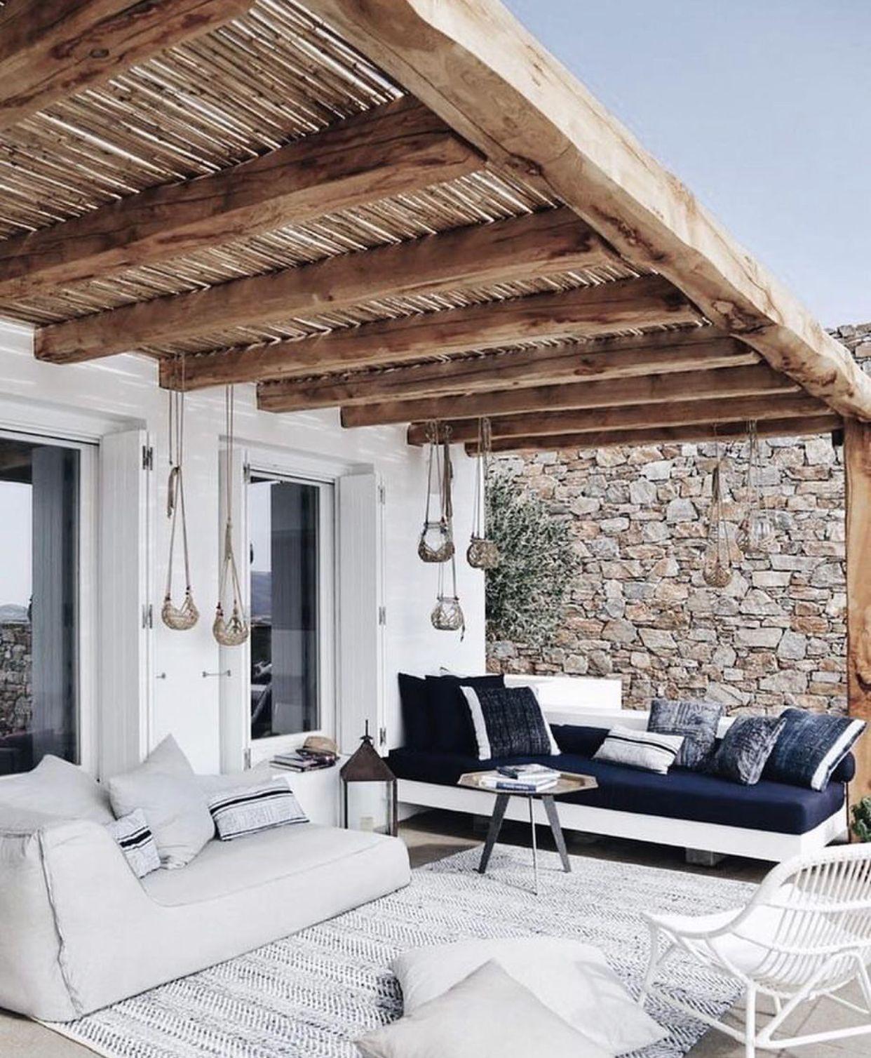 Ibiza tuin inspiratie zachte bank